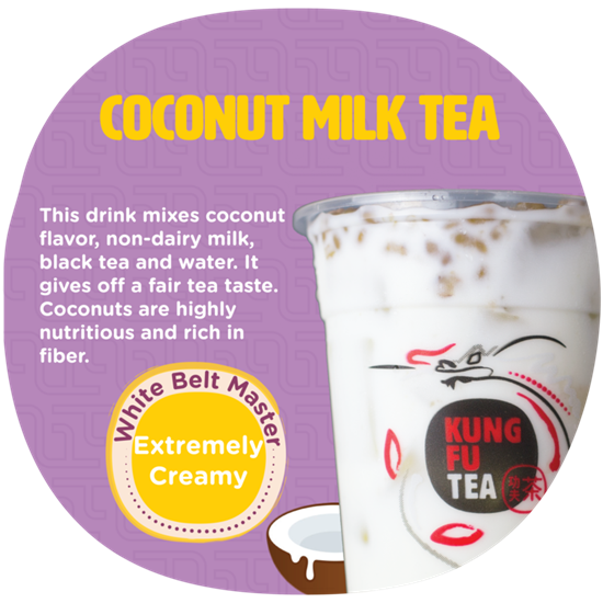 Picture of KF COCONUT MILK TEA 椰香奶茶