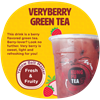 Picture of VERYBERRY GREEN TEA 莓果奶绿