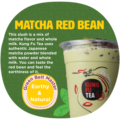Picture of KF MATCHA RED BEAN SLUSH 红豆抹茶沙冰