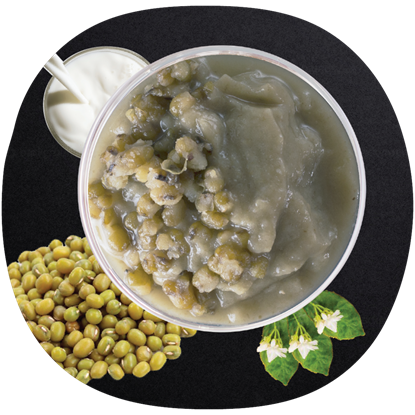 Picture of KF MUNG BEAN SLUSH 绿豆冰沙