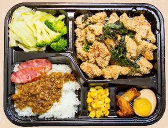 Picture of ViVi 盐酥鸡饭 Popcorn Chicken Bento