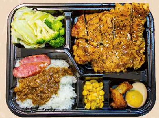 Picture of ViVi 炭烤蜜酥鸡排饭 BBQ Crispy Chicken Cutlet Bento