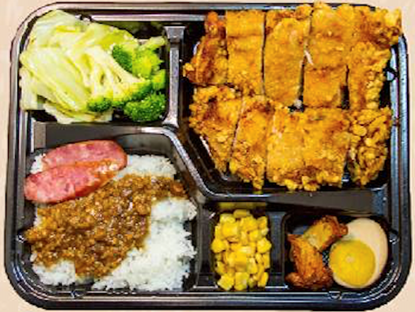 Picture of ViVi 脆皮鸡排饭 Crispy Chicken Cutlet Bento