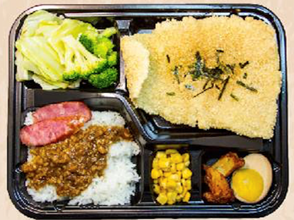 Picture of ViVi 酥炸鱼排饭 Crispy Fish Fillet Bento